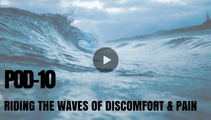 Mindfulness Techniques for Pain and Discomfort: POD 10 Riding the Waves of Discomfort and Pain